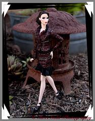 J'Adore La Fete Fashion Royalty (Terri-NY) Tags: red elise lips jolie 12 brunette fashionroyalty
