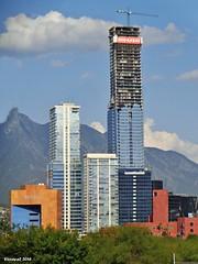 Torre Koi en construccin Julio 2016 (vicraya2 2015) Tags: koi construccin monterrey nuevo len mexico san pedro garza garcia valle oriente