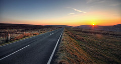 Sunset on the Hills (sammie) Tags: road sunset summer sky mountain nature rural landscape island evening coast countryside spring university sigma wideangle lastday hills adventure exams fields 1020mm countdown hdr isleofman goldenhour manx iom alevels snaefell photomatix ellanvannin nikond5000 sammiecainephotography sammie