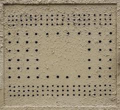 176th Birthday (Goran Patlejch) Tags: street wall beige prague praha praga holes cover ventilation patlejch gntx goenetix patlejh