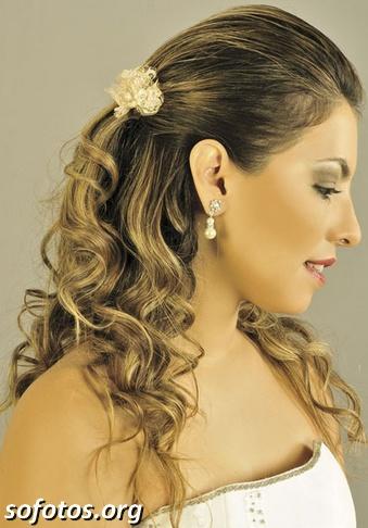 Penteados para noiva 164