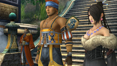 Final Fantasy X/X-2 Screenshots (Save/Continue) Tags: 3 square video lulu games x final fantasy hd squareenix enix playstation remake vita tidus paine rikku wakka yuna x2