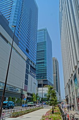 Valley between buildings [HDR] (Takashi K. A) Tags: jr