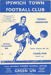 Ipswich Town v Charlton Athletic (Charlton Athletic Programmes) Tags: ipswich reserves charlton ipswichtown charltonathletic 5556