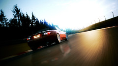 Greatness (DocArmor98/GTracer98) Tags: sunset 30 advertising photo mazda miata edit damp mx5 nordschleife nurburgring gt5 photomode granturismo5