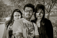 Nihu , kvn & Jinu (kingkvn7) Tags: portrait love portraits happiness kingkvn7