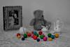 Chicles (MoDeMX) Tags: color vintage 50mm oso bn bola f18 antaño recuerdos memoria chicles desaturación beisball selectivo