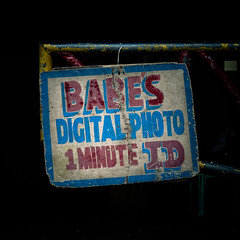 Babe's digital photo