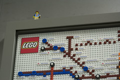 Tube map made from Lego (IanVisits) Tags: lego map londonunderground tubemap kingscross