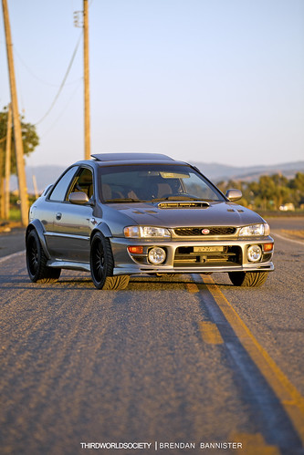 Karlton Flared Subaru Impreza RS GC8