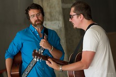 Brian Chartrand & Shane Alexander @SLRS 6-29-13 (254mochacharlie) Tags: seattle music musicians nikond600 shanealexander lottekestner brianchartrand seattlelivingroomshows