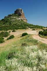Salto de Roldan (Aragon/Espagne) (PierreG_09) Tags: españa spain huesca aragon sanmiguel espagne peña aman guara sierradeguara saltoderoldan pathscaminhos