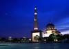 DPP_6357 (whchoy) Tags: nightphotography mosque nightscene putrajaya klcc twintower putrajayamosque