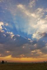Beautiful start of the Day (Infomastern) Tags: morning sky clouds sunrise landscape countryside canon100 livsnjutning fotosondag fs130901
