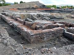 Cyfarthfa Ironworks coke ovens exposed (trelewis) Tags: archaeology southwales wales iron steel glamorgan merthyrtydfil ironwo