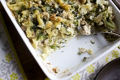 baked pasta with broccoli and sausage (smitten kitchen) Tags: broccoli pasta baked rabe