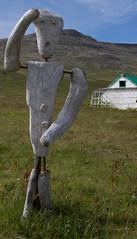 karlinn í túninu-3084 (swöhler) Tags: hornbjargsviti listaverk