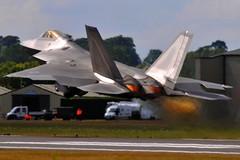 RIAT RAF Fairford 2010 USAF Lockheed Martin/Boeing F-22 Raptor (dennisgoodwin) Tags: 30 raptor block f22 lockheed usaf digitalcameraclub f22a nikonflickraward martinboeing 06126 riatraffairford2010