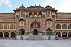 India - Rajasthan - Jaipur - Amber Palace - Ganesh Pol - 149 (asienman) Tags: india jaipur amberpalace ganeshpol asienmanphotography rajasthan