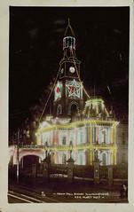 Sydney Town Hall Illuminations during the USA Fleet visit
