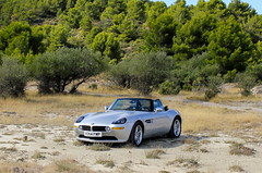 BMW Z8 (Rev426) Tags: uk france classic car museum silver movie james cool europe display films convertible super retro exotic bmw bond movies spotted 007 programme z8 eon v354fmp altbmwz8