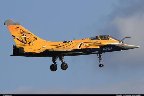"RAFALE C 113-HJ 107 Nancy  ""70ans 3/3"" septembre 2013"