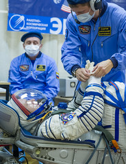 Expedition 37 Preflight (201309250060HQ) (NASA HQ PHOTO) Tags: kazakhstan baikonur olegkotov baikonurcosmodrome roscosmosrussianfederalspaceagency andreyshelepin expedition37 nasagctc expedition37preflight