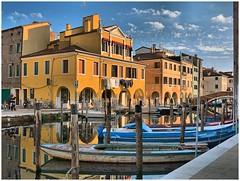Chioggia - Canal Vena (farsergio) Tags: bridge italy house europa europe italia barche case ponte venezia hdr vena canale chioggia veneto farsergio canong15