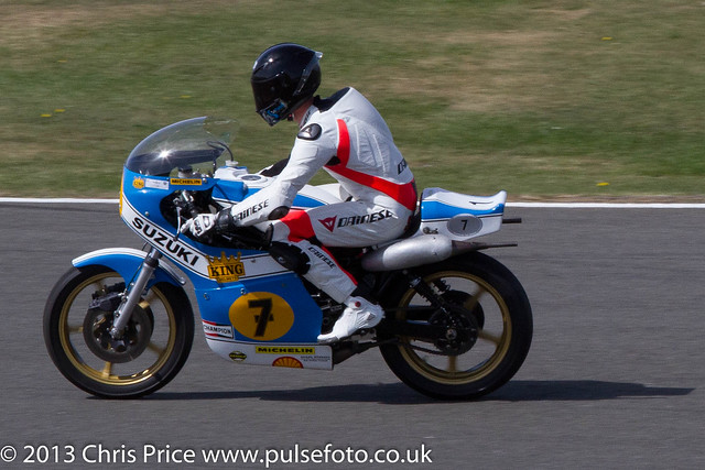 Barry Sheene Memorial Parade, Silverstone 2013