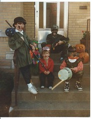 halloween. sometime in the 1980's (timp37) Tags: costumes chicago fall film halloween illinois october 80s 1980s