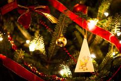Christmas Tree (aecclesphoto) Tags: christmas tree festive f14 nikon85mm14d nikond3