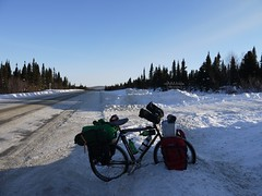 P1010665 (shanecycles.com) Tags: camping winter canada expedition cycling cyclings canada1 wereldfietser wintercycletouring shanecyclescom wintercycletouringcom
