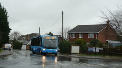 Soggy Solo (bobsmithgl100) Tags: bus solo isleofwight sr cowes cgo optare southernvectis 3804 woodvaleroad hw62 hw62cgo