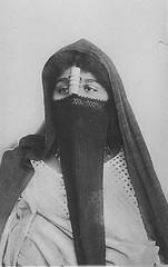 02_Egypt - Egyptian Woman Wearing a Meleya, Arroussa, and a Mandil (usbpanasonic) Tags: woman veil muslim islam egypt culture nile cairo nil egypte islamic  caire moslem egyptians egyptiens islamicwoman