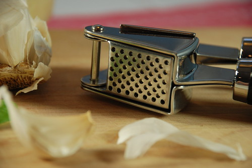 """Stainless Steel Garlic Press - Kitchen Gadgets by Cuina Kitchen <a style=""""margin-left:10px; font-size:0.8em;"""" href=""""http://www.flickr.com/photos/115365437@N08/12108126345/"""" target=""""_blank"""">@flickr</a>"""