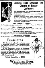 waldman's womens clothing store  vintage lingerie brassiere fashioin  1915 albany ny early 1900s (albany group archive) Tags: waldmans womens clothing store vintage lingerie brassiere fashioin 1915 albany ny early 1900s oldalbany history old photos historic historical
