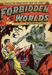 Forbidden Worlds 1 (Michael Vance1) Tags: art comics weird artist adventure horror terror comicbooks comicstrip goldenage cartoonist anthology