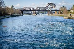 Salmon Bay Bridge (temaher) Tags: seattle washington nikon pacificnorthwest wa locks pugetsound ballard shipcanal chittenden salmonbay d7000