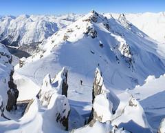 Panorama 12 (leivischem [federleicht]) Tags: winter mountain snow ski mountains schweiz switzerland adventure mountaineering summit svizzera engadin engadine skitour bergsteigen graubnden grisons gipfel svizra abenteuer unterengadin grischun grigione engiadina