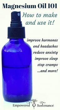 Easy magnesium oil r