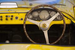 so we sailed (Antonio_Trogu) Tags: auto italy car wheel yellow museum automobile italia steering ferrari giallo museo dashboard volante emiliaromagna cruscotto gialla mef enzoferrari antoniotrogu