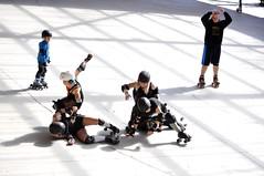 Caida II (dgomez_h) Tags: girls skating rollerderby bilbao killer roller chicas killers donosti derby patines patinaje artxanda botxo botxokillers bilborollerderby