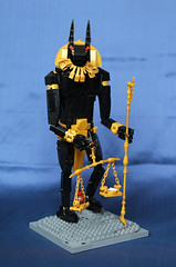 Secondary view (inquisitor88) Tags: wolf jackal lego god contest egypt anubis
