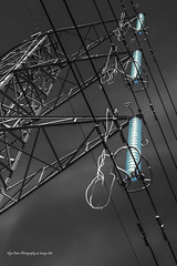 The Grid (Glyn Owen Photography & Image-Art) Tags: uk england danger grid high dangerous power cheshire landmark structure pylon cables national electricity british conductors supply voltage