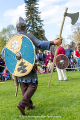[2014-04-19@11.13.36a] (Untempered Photography) Tags: history costume helmet medieval tournament weapon axe shield armour reenactment combatant chainmail canonef50mmf14 perioddress polearm poleweapon mailarmour untemperedeye canoneos5dmkiii untemperedeyephotography glastonburymedievalfayre2014
