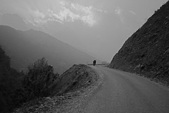 Highway Scene (tsering.phurpu) Tags: nepal people nature highway moments memories lifestyle hills bikeride constant roadconstruction hetauda dailylifes scenelandscape