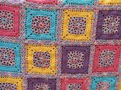 Decke fr mich (Lisas Welt) Tags: crochet blanket grannysquares