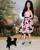 Barbie Snowprincess Poodle Dress (The doll keeper) Tags: pink black doll dress barbie poodle snowprincess