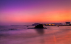 Sunset (Anirban.243) Tags: longexposure sunset sea beach canon nose evening dolphin hdr rk vizag vishakapatnam cs5