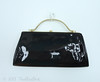 Vintage Handbag Purse (thisbluebird) Tags: purse handbag vintagehandbag framebag vintagepurse patentleatherbag vintageclothesthisbluebird